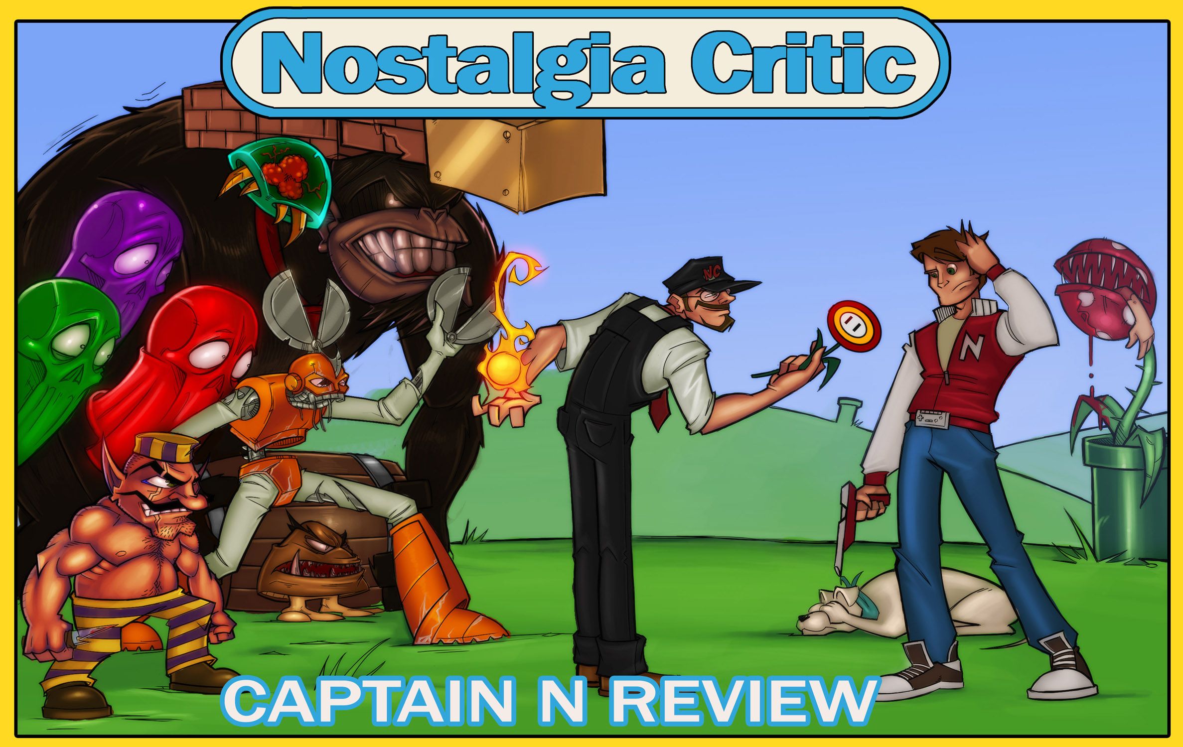 Nostalgia Critic: Captain N - Channel Awesome