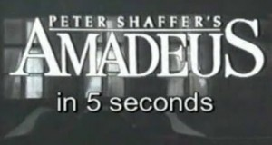 Amadeus in 5 Seconds