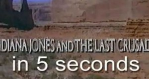 Indiana Jones and the Last Crusade in 5 Seconds