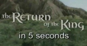 Lord of the Rings - Return of the Kings in 5 Seconds