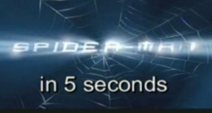 Spider-Man in 5 Seconds