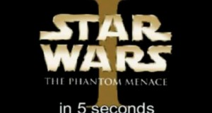 Star Wars Episode I - The Phantom Menace in 5 Seconds