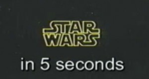 Star Wars - A New Hope in 5 Seconds