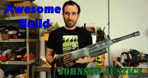 Johnson Justice Gun Prop - Awesome Build