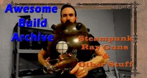 Steampunk Ray Gun - Awesome Build