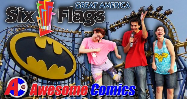 Six Flags Great America - Awesome Comics
