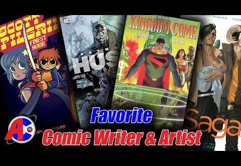 Favorite Comic Writer & Artist - Awesome Comics