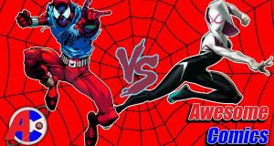 Scarlet Spider vs Spider Gwen - Awesome Comics