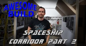 Spaceship Corridor Part 2 - Awesome Build