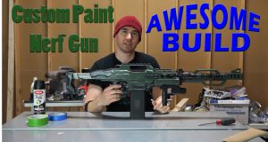 Custom Paint Nerf Gun - Awesome Build