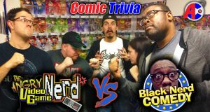 AVGN vs Black Nerd Comic Trivia - Awesome Comics