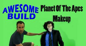 Planet of the Apes Makeup - Awesome Build