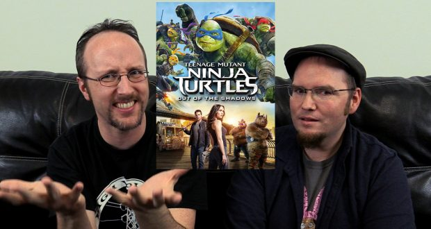 Nostalgia Critic Real Thoughts on - TMNT Out of the Shadows