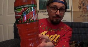 Brad Tries Mountain Dew Holiday Brew