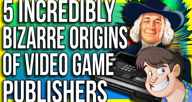 5 Incredibly Bizarre Origins of Video Game Publishers - Fact Hunt