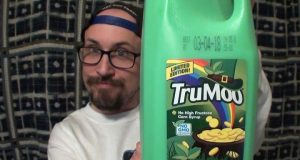 Brad Tries TruMoo Green Milk