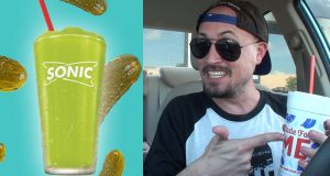 Brad Tries Sonic's Pickle Slush