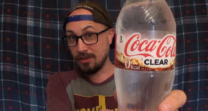 Brad Tries Coca Cola Clear