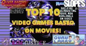 Top 10 Video Game Movies (Ft. Oliver Harper, Dan Ibbertson & Kim Justice)