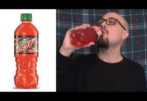 Brad Tries Mountain Dew Merry Mash-Up