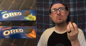 Brad Tries Hot Wing & Wasabi Oreos