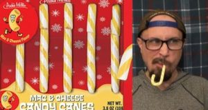 Brad Tries Mac & Cheese Candy Canes