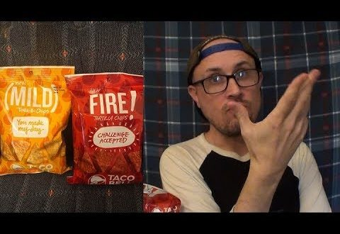 Brad Tries Taco Bell Chips