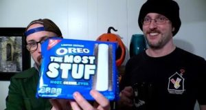 Brad Tries The Most Stuf Oreos, w/ Doug Walker