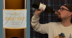 Brad Tries Trump Wine